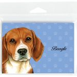 Beagle-Dog-Note-Cards-Set-of-8-with-Envelopes-400694665547