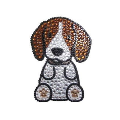 Beagle-Dog-Rhinestone-Glitter-Jewel-Phone-Ipod-Iphone-Sticker-Decal-400579325679