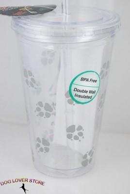 Beagle-Double-Walled-Reusable-Acrylic-Dog-Tumbler-Water-Bottle-w-Straw-400275478593-3