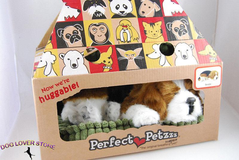 Beagle Perfect Petzzz Life Like Stuffed Animal Breathing Dog
