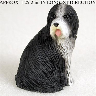 Bearded-Collie-Collectible-Mini-Resin-Hand-Painted-Dog-Figurine-400289232309