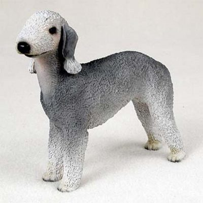 Bedlington-Terrier-Hand-Painted-Collectible-Dog-Figurine-400293469392