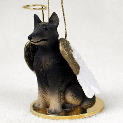 Belgian-Tervuren-Dog-Figurine-Angel-Statue-180842183818