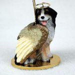Bernese-Mountain-Dog-Figurine-Ornament-Angel-Statue-Hand-Painted-400269274758