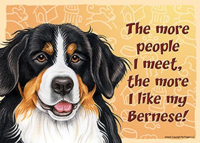 Bernese-Mountain-Dog-Sign-Wall-Plaque-Magnet-Velcro-5×7-More-People-I-Meet-180711253692