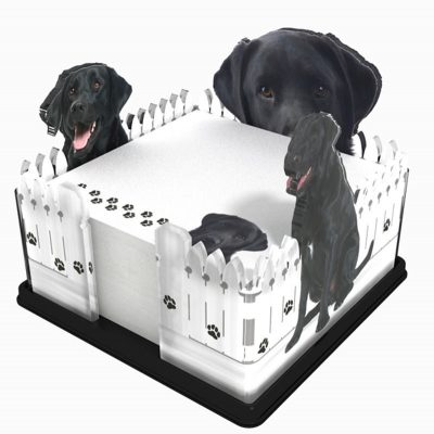 Black-Lab-Dog-Breed-Acrylic-Note-Holder-Memo-Note-Pad-Made-in-USA-400310851952
