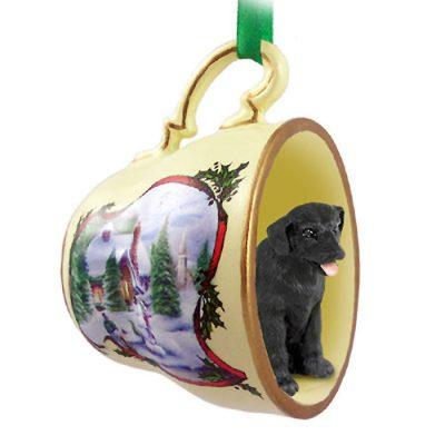 Black-Lab-Dog-Christmas-Holiday-Teacup-Ornament-Figurine-181239452668