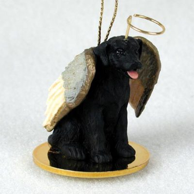 Black-Lab-Dog-Figurine-Angel-Statue-400671435398