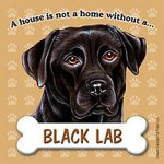Black-Lab-Dog-Magnet-Sign-House-Is-Not-A-Home-181265207994