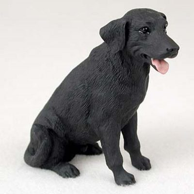 Black-Lab-Hand-Painted-Collectible-Dog-Figurine-181336542330