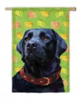 Black-Lab-Labrador-Dog-House-Garden-Flag-Decorative-125-x-18-181096995267