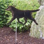 Black-Labrador-Retriever-Outdoor-Garden-Dog-Sign-Hand-Painted-Figure-181369642672