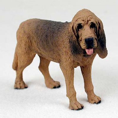 Bloodhound-Hand-Painted-Collectible-Dog-Figurine-400250769719