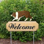 Border-Collie-Dog-Breed-Oak-Wood-Welcome-Outdoor-Yard-Sign-Red-400706785501