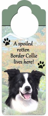 Border-Collie-Dog-Door-Knob-Handle-Hanger-Sign-Spoiled-Rotten-1025-x-4-400511436020