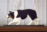 Border-Collie-Dog-Figurine-Sign-Plaque-Display-Wall-Decoration-Black-Tri-400721985964
