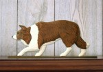 Border-Collie-Dog-Figurine-Sign-Plaque-Display-Wall-Decoration-Red-400721986369