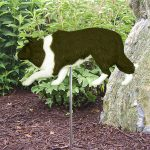 Border-Collie-Outdoor-Garden-Dog-Sign-Hand-Painted-Figure-Black-400688297535