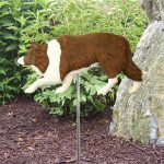 Border-Collie-Outdoor-Garden-Dog-Sign-Hand-Painted-Figure-Red-181369644564