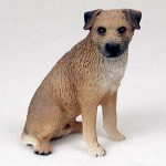 Border-Terrier-Hand-Painted-Dog-Figurine-Statue-180638147823