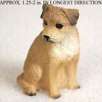 Border-Terrier-Mini-Resin-Hand-Painted-Dog-Figurine-181274733338