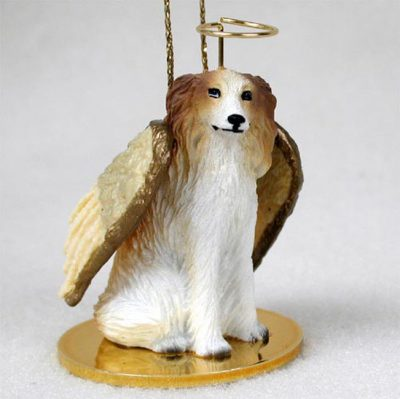 Borzoi-Dog-Figurine-Angel-Statue-Hand-Painted-400201486782