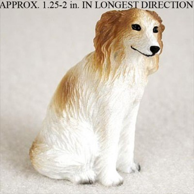 Borzoi-Mini-Resin-Dog-Figurine-Statue-Hand-Painted-400205070007