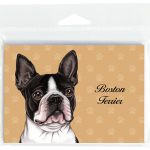 Boston-Terrier-Dog-Note-Cards-Set-of-8-with-Envelopes-400694666885