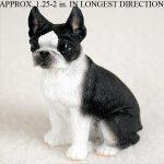 Boston-Terrier-Mini-Resin-Hand-Painted-Dog-Figurine-180675949510