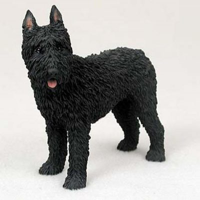 Bouvier-Hand-Painted-Collectible-Dog-Figurine-Statue-180774500692
