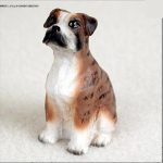 Boxer-Collectible-Mini-Resin-Hand-Painted-Dog-Figurine-Brindle-Uncropped-400289229892