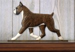 Boxer-Dog-Figurine-Sign-Plaque-Display-Wall-Decoration-Brindle-181430767223