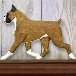 Boxer-Dog-Figurine-Sign-Plaque-Display-Wall-Decoration-Fawn-400721987108