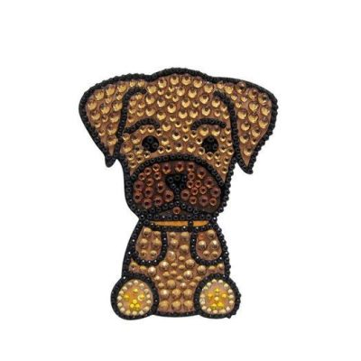 Boxer-Dog-Rhinestone-Glitter-Jewel-Phone-Ipod-Iphone-Sticker-Decal-180879671554