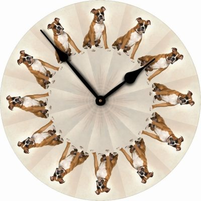 Boxer-Dog-Wall-Clock-10-Round-Wood-Made-in-USA-Uncropped-400707271616