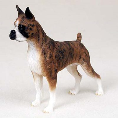 Boxer-Hand-Painted-Dog-Figurine-Statue-Brindle-400201746816