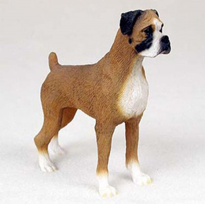 Boxer-Hand-Painted-Dog-Figurine-Statue-Uncropped-180777412369