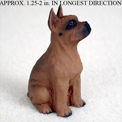 Boxer-Mini-Resin-Dog-Figurine-Statue-Hand-Painted-Tawny-400205070029