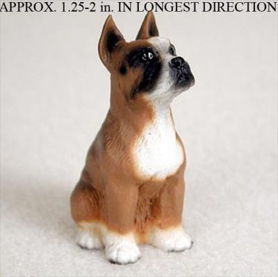 Boxer-Mini-Resin-Hand-Painted-Dog-Figurine-Statue-Hand-Painted-400220476736