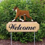 Boxer-Uncropped-Dog-Breed-Oak-Wood-Welcome-Outdoor-Yard-Sign-Fawn-400706786772