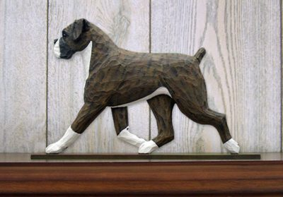 Boxer-Uncropped-Dog-Figurine-Sign-Plaque-Display-Wall-Decoration-Brindle-400721987237