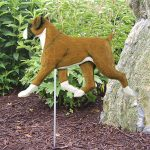 Boxer-Uncropped-Outdoor-Garden-Dog-Sign-Hand-Painted-Figure-Fawn-181369646921