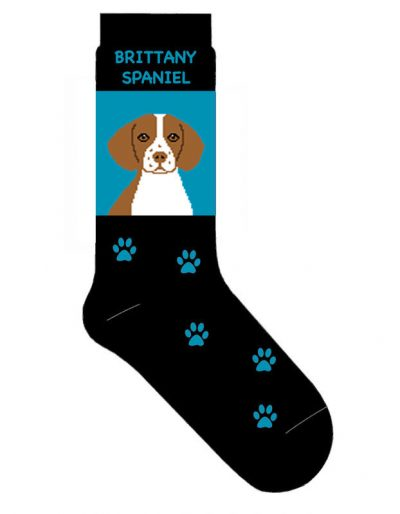 Brittany-Malamute-Dog-Socks-Lightweight-Cotton-Crew-Stretch-Egyptian-Made-181235683238