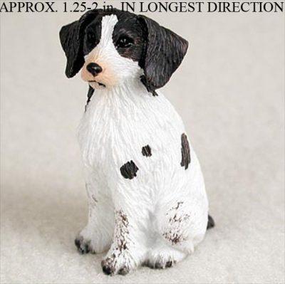 Brittany-Mini-Resin-Dog-Figurine-Statue-Hand-Painted-LiverWhite-400205070046
