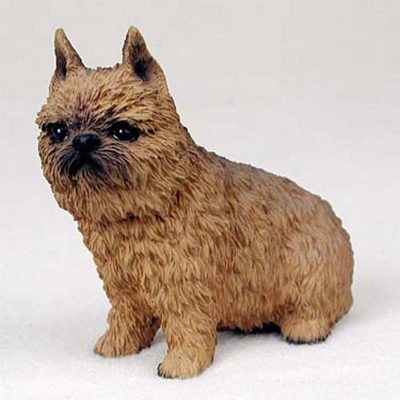 Brussells-Griffon-Hand-Painted-Collectible-Dog-Figurine-Red-400250443383