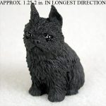 Brussels-Griffon-Collectible-Mini-Resin-Hand-Painted-Dog-Figurine-Black-180856000828