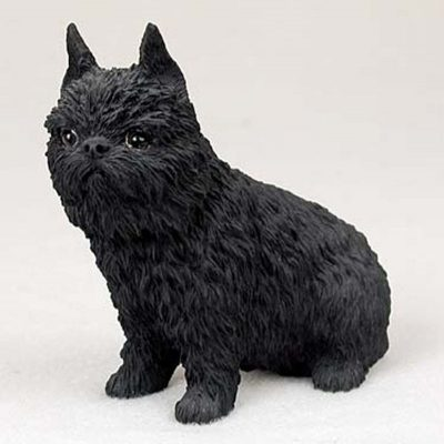Brussels-Griffon-Hand-Painted-Collectible-Dog-Figurine-180675492594