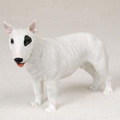 Bull-Terrier-Hand-Painted-Collectible-Dog-Figurine-180774502240