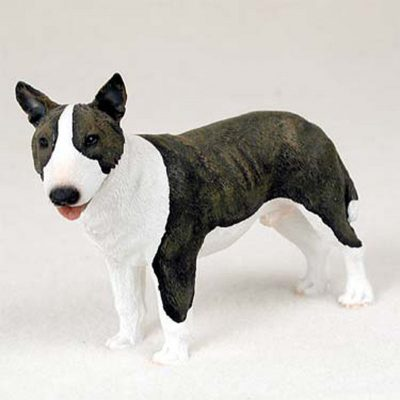 Bull-Terrier-Hand-Painted-Dog-Figurine-Statue-Brindle-180638147986