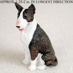Bull-Terrier-Mini-Resin-Hand-Painted-Dog-Figurine-Statue-Brindle-400249634872